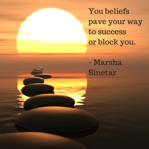 You beliefs pave your way to success or